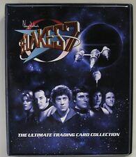 Blakes 7 Series 1 & 2 Trading Card Binder + Barbara Shelley Autograph Card