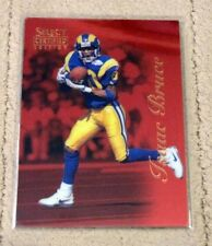 1996 Select Certified Edition ISAAC BRUCE #1 Red PROMO