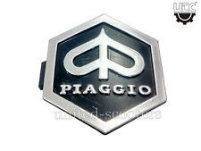 VESPA PX125 PX150 VSX T5 PIAGGIO Hex Badge Emblem Horn Cast Black NewP2049
