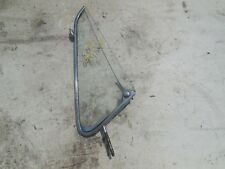 PORSCHE 901 911 912 COUPE FRONT DOOR SIDE VENT WINDOW GLASS FRAME LEFT L S