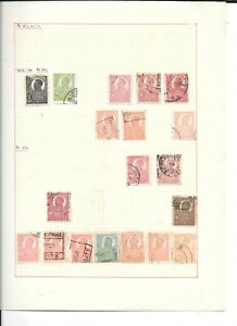 Romania collection on 10 pages from early