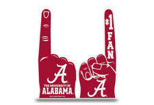 Alabama Crimson Tide Flat Foam Finger - #1 Fan Hand NEW Going to the Game Party