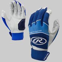 Rawlings Workhorse Senior Baseball Batting Gloves - Navy (NEW) Lists @ $40