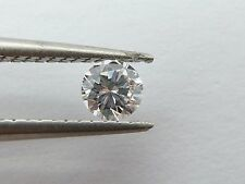 "GIA Diamond 0.21CT Round Brilliant ""G"" Color VVS2 - Near Flawless 100% Natural"