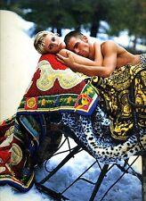 1994 Italian Versace Uomo Men's Catalog Bruce Weber Photos