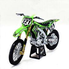 Newray 1:12 Kawasaki KX450F Bud Racing #121 Motorcross Motorcycle Model New