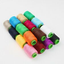 NEW Sewing Threads 25 HOT COLORS  300m COTTON THREAD Reels 300 Yards Cones Hilos