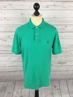 Men's Ralph Lauren Polo Shirt - Medium - Green - Great Condition