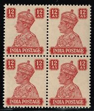 India SG# 276 Block of 4 - Mint Never Hinged - Lot 110115