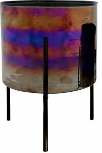 Hoff INTERIEUR Planter Pots Glass Cover Sheet Container Pot Stand Solid