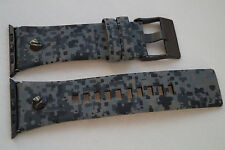 Luxe DIESEL cuir véritable camouflage army band sangle pour apple watch 42MM