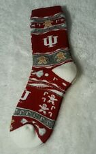 For Bare Feet Indian Hoosiers Adult Ugly Christmas Socks Ginger Bread Man