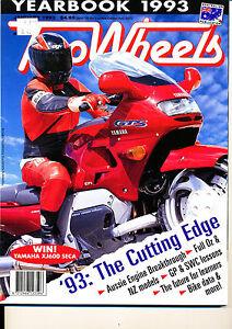 Two Wheels Magazine January 1993 Honda NSR500  Kawasaki EL250