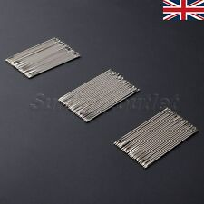 25/75Pc Stainless Steel Hand Needles Leather Sewing Stitching Craft DIY