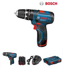 Bosch GSB 10.8-2-LI Pro 2x2ah Cordless Impact Drill 10mm Keyless w/Hard Case UPS