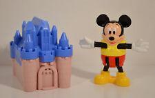 "RARE 1996 Mickey Mouse 3"" Disneyland Paris McDonald's EUROPE Action Figure"