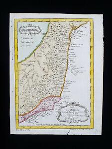 1754 J.N. BELLIN: SOUTH AMERICA, BRAZIL, BRASIL, RIO DE JANEIRO, BAHIA