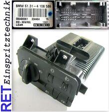 Schalter Lichtschalter 4108586 Konsole komplett BMW 3 er E 46 original