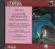 CD album: Mozart: La Flûte Enchantée. David Josefowitz . EMI . O