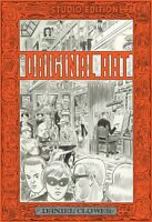 DANIEL CLOWES FANTAGRAPHICS STUDIO EDITION EXTRA LARGE HARDCOVER OF ORIGINAL ART