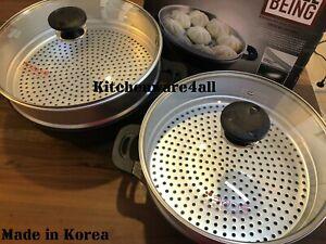 Kitchen Art Marble Stone Non Stick coated *** 36CM STEAMER & WOK PAN *** Korea