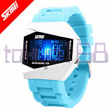 Skmei Bombardero Stealth Multicolor Flash Led Digital Reloj Deportivo Nuevo ~ tokyo168