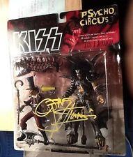 "gene simmons signed autograph McFarlane 7"" ""Kiss"" figure COA"