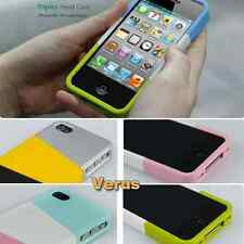NEWTOP 3-Color DIY Plastic Case for iPhone 4/ 4S Great buy