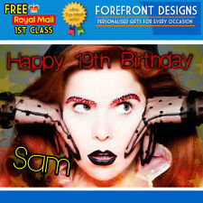 Personalised Paloma Faith Music Artist - Happy Birthday Greeting Card A5