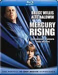 """Mercury Rising"" Blu-ray New Sealed Rated R Widescreen Bwillis Abaldwin CmcBride"