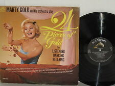 MARTY GOLD AND HIS ORCHESTRA Play 24 Pieces Of Gold 2LP What's New Wendy VPM6012