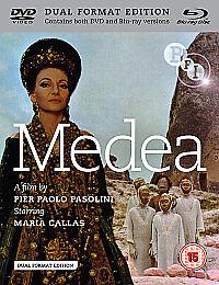 Medea (Maria Callas, Anna Maria Chio) BRAND NEW BLU RAY /DVD