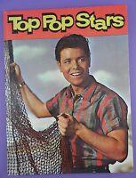 Top Pop Stars Book - Purnell c/r 1962 incl. Elvis Presley, Cliff Richard etc.
