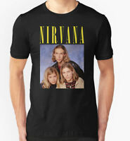 NEW Nirvana Hanson Men's Black Tee Shirt Limited Edition Size S - 3XL