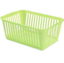 Handy Plastic Basket Fruit Vegetable Kitchen Pharmacy Tidy Storage Organiser
