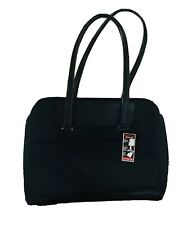 NEW Victorinox Laptop Messenger Shoulder Tote Bag Black w/Trolley Luggage Slide