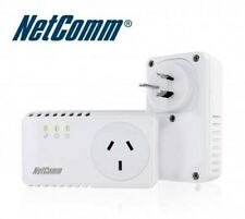 2 x NP204 Netcomm Powerline Adapters 200mbps