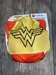 New Bumkins Swim Diaper Wonder-Woman Reusable snap adjustable toddler youth