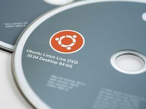 Ubuntu Linux 21.04 & 20.04.2 LTS Live DVD Installation Media