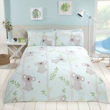 Rapport Koala Fun Cute Animal Print Duvet Cover Bedding Set Multi