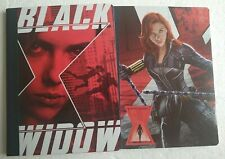 Black Widow / Avenger / 2 Composition Notebook Set / 100 Wide Ruled Sheets / NEW
