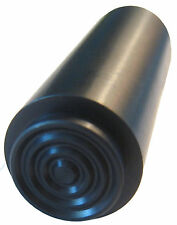 """Black Stainless """"Concentric Circle"""" Recoil Spring Plug for 1911 Pistols & Clones"""