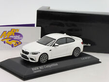 "Minichamps 410026200 # BMW M2 Competition Baujahr 2019 "" alpinweis "" 1:43  NEU"