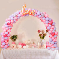 Balloon Arch Set Column Stand Base Frame Kit Wedding Birthday Party Garland Deco