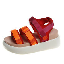 Outdoors Beach Casual Sandals Peep Toe Ankle Buckle Slingbacks Platform Shoes L