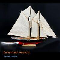 Maquette de Bateau Benjam à Voile 1:87 bricolage Kits de Bateaux à Voile en Bois