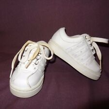 Sneakers Tennis Shoes White Toddler Size 6 Girls Laces