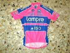Maillot jersey shirt cyclisme cycling equipe team LAMPRE ISD 2011-2012 SANTINI