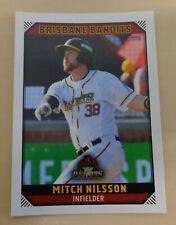 Mitch Nilsson 2018/19 Aussie Baseball League- Brisbane Bandits-Mannheim Tornados