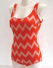 60's VINTAGE CLASSIC STYLE LADIES SWIMMING COSTUME SWIMSUIT 10 - 12 NEW